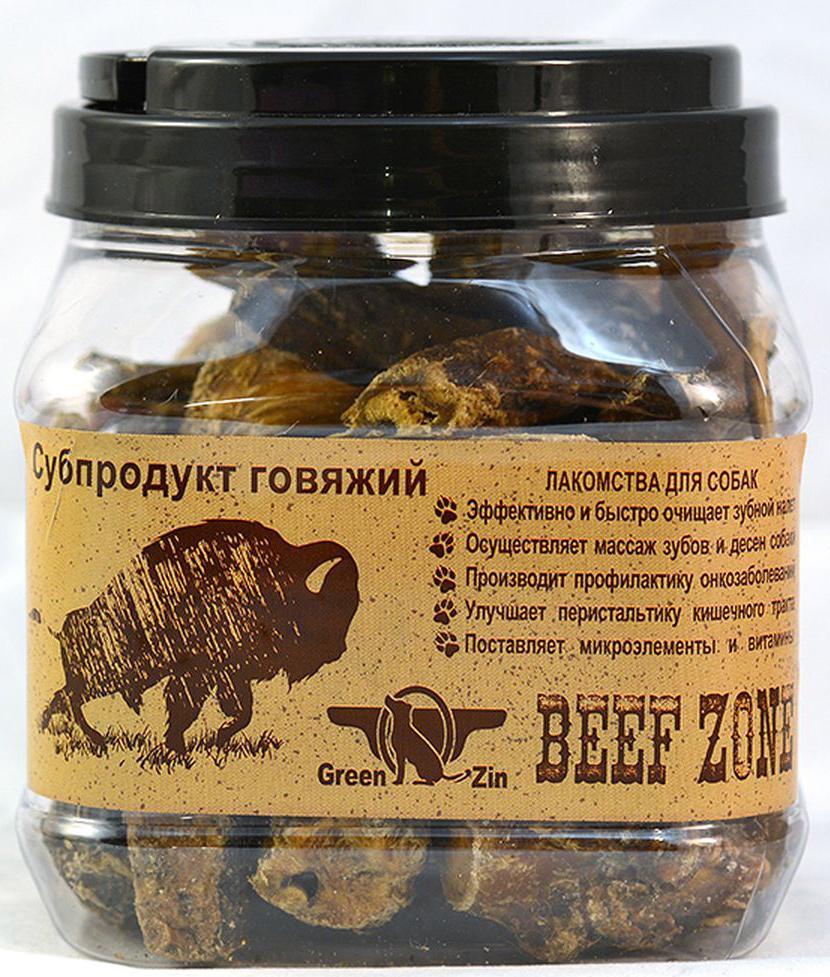 Лакомство для собак GreenQZin, сушеный говяжий пенис, малый, 500 г