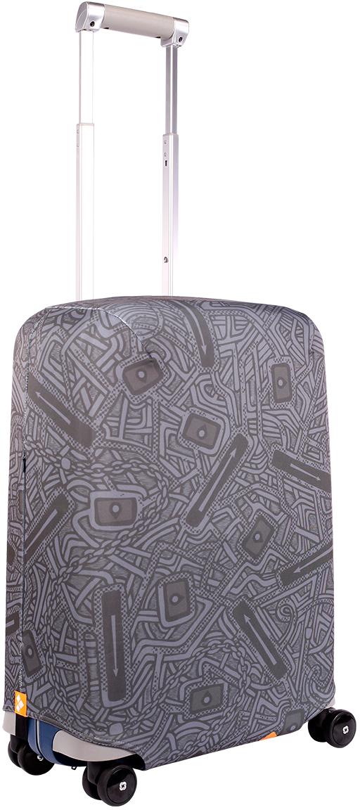Водоотталкивающий особо прочный чехол для чемодана Routemark (Рутмарк). Плотность ткани -  500 г/кв.м,  упрочненные швы, 2 потайные молнии для боковых ручек с двух сторон. Дополнительная резинка  с фастексом для лучшей усадки. Стойкая сублимационная печать. Чехлы Routemark (Рутмарк)  отличаются плотным материалом и наличием специальных потайных молний. Так же мы  позаботились об отдельном аксессуаре - мешочке, который можно использовать для разных  полезных мелочей. Все модели имеют, по сравнению с аналогами, упрочненные швы и  дополнительную резинку с фастексом для лучшей усадки. Наши чехлы также можно стирать в  стиральной машинке. Наши чехлы имеют сложные лекала, разработанные нами в соответствии с  особенностями всех основных моделей чемоданов. Именно поэтому они отлично сидят.