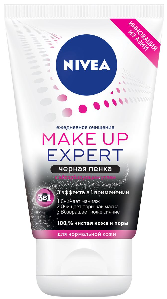 Nivea Черная пенка жидкое мыло для умывания для нормальной кожи, 100 мл nivea черная пенка жидкое мыло для умывания для нормальной кожи 100 мл