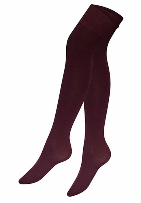 Чулки Idilio, цвет: бордовый. GW01. Размер универсальный