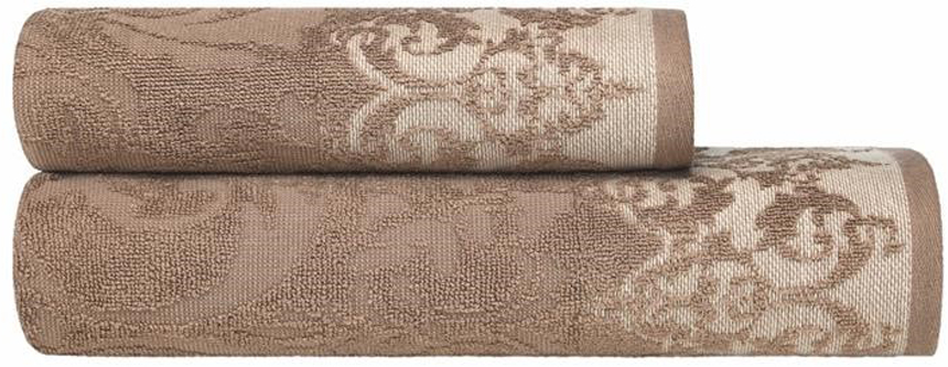 Набор банных полотенец Estia Джениле, цвет: бежевый, 2 шт99.54.49.0014Набор банных полотенец Estia Дженилесостоит из 2 махровых полотенец, выполненных из натурального 100% хлопка с рисунком по краям. Изделия отлично впитывают влагу, быстро сохнут, сохраняют яркость цвета и не теряют формы даже после многократных стирок. Размер маленького полотенца: 50 х 100 см.Размер большого полотенца: 70 х 140 см.