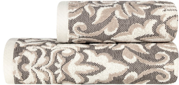 Банное полотенце Estia выполнено из100% хлопка. Изделие отлично впитывает влагу, быстро сохнет, сохраняет яркость цвета и не теряет форму даже после многократных стирок.  Такое полотенце очень практично и  неприхотливо в уходе.