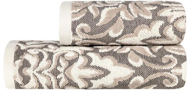 Полотенце банное Estia Альгамбра, цвет: бежевый, коричневый, 70 х 130 см99.54.50.0044Банное полотенце Estia выполнено из100% хлопка. Изделие отлично впитывает влагу, быстро сохнет, сохраняет яркость цвета и не теряет форму даже после многократных стирок.Такое полотенце очень практично инеприхотливо в уходе.