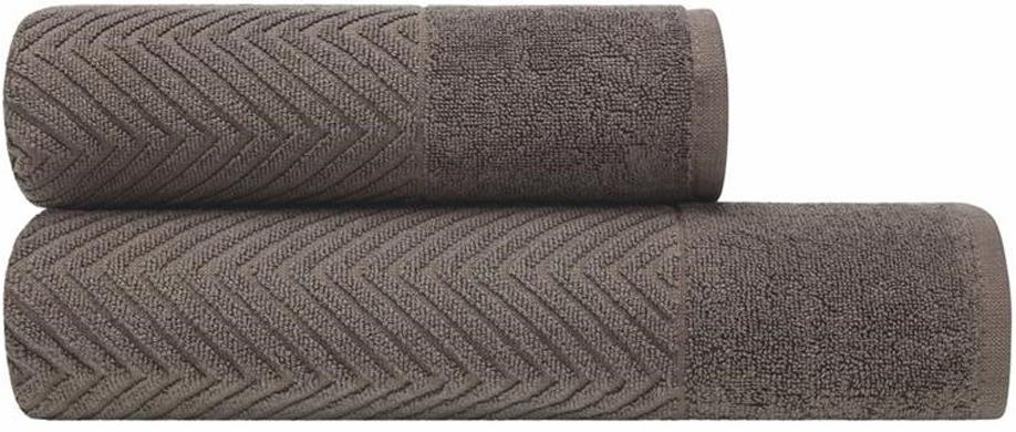 Банное полотенце Estia выполнено из100% хлопка. Изделие отлично впитывает влагу, быстро сохнет, сохраняет яркость цвета и не теряет форму даже после многократных стирок. Плотность ткани 480 гр/м2.  Такое полотенце очень практично и  неприхотливо в уходе.