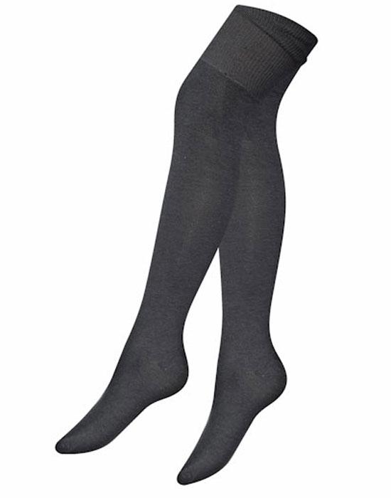 Гольфы женские Idilio, цвет: темно-серый. GW02. Размер 37/39 недорго, оригинальная цена