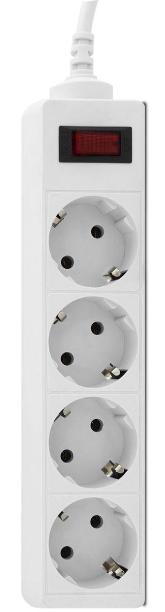 CBR CSF 2450-1.8 CB, White сетевой фильтрCSF 2450-1.8 White CBСетевой фильтр CBR CSF 2450на 4розетки будет прекрасным защитником вашей техники отвнезапных перепадов напряжения всети исвязанных сэтим поломок. Сэтим сетевым фильтром выможете небеспокоиться овозможности возникновения пожара вследствие перепадов напряжения, потому что всю мощь электроудара возьмет насебя предохранитель этого фильтра, асам корпус изготовлен изнегорючего пластика. Контакты исиловой кабель сделаны изпрочных материалов, что дает стойкость кокислению инагреванию, обеспечивая высокую истабильную проводимость тока. Помимо основных функций, сетевой фильтр может использоваться вкачестве удлинителя засчет своего длинного сетевого кабеля. Также предусмотрена возможность крепления фильтра настену.