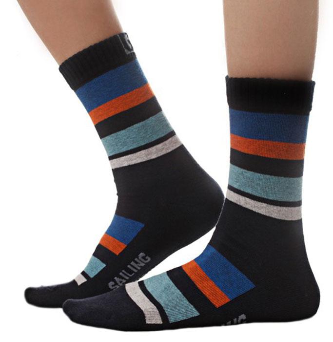 Носки для мальчика Idilio, цвет: синий. SB03. Размер 30/32SB03Комфортные носки для мальчиков с добавлением экологически чистого хлопка, изготовленные без применения химических красителей.