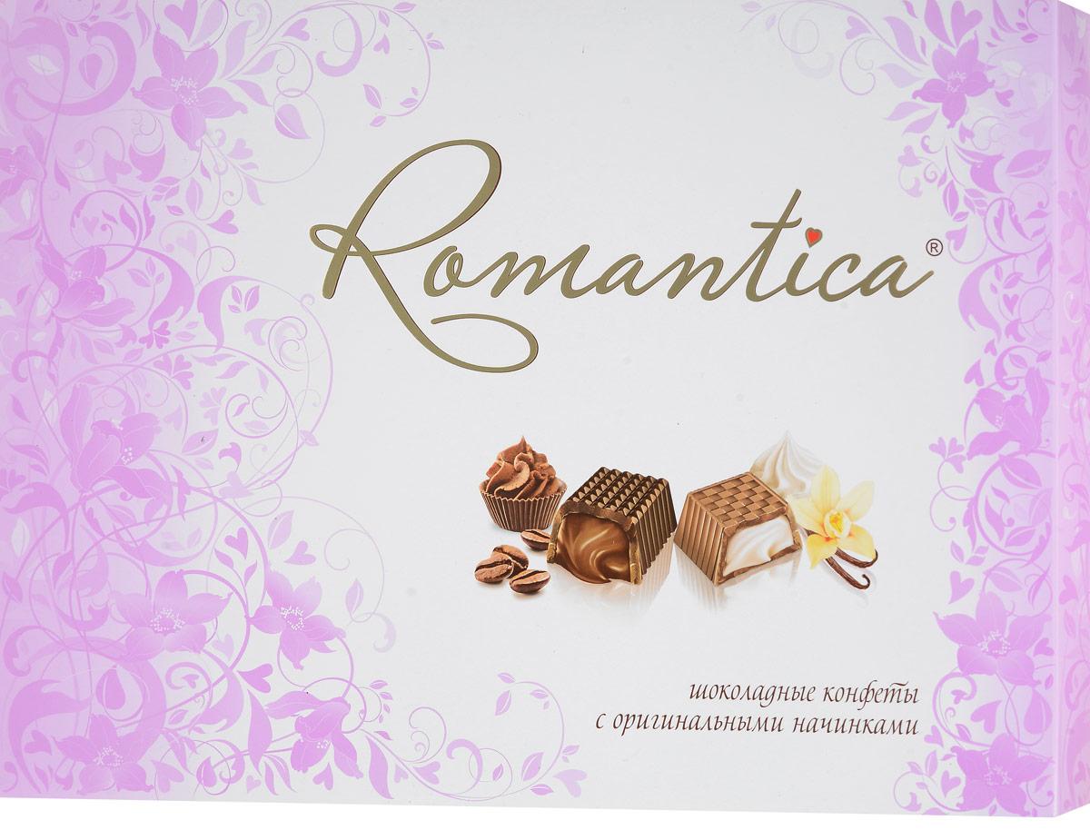 Славянка Romantica набор конфет, 320 г (цвет упаковки фуксия) славянка romantica набор конфет 320 г бирюзовая упаковка