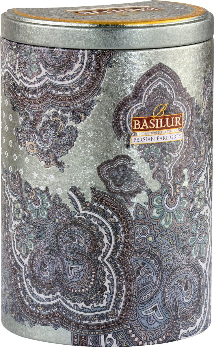 Basilur Persian Earl Grey чай черный листовой с бергамотом, 100 г ahmad tea earl grey черный чай 100 г жестяная банка