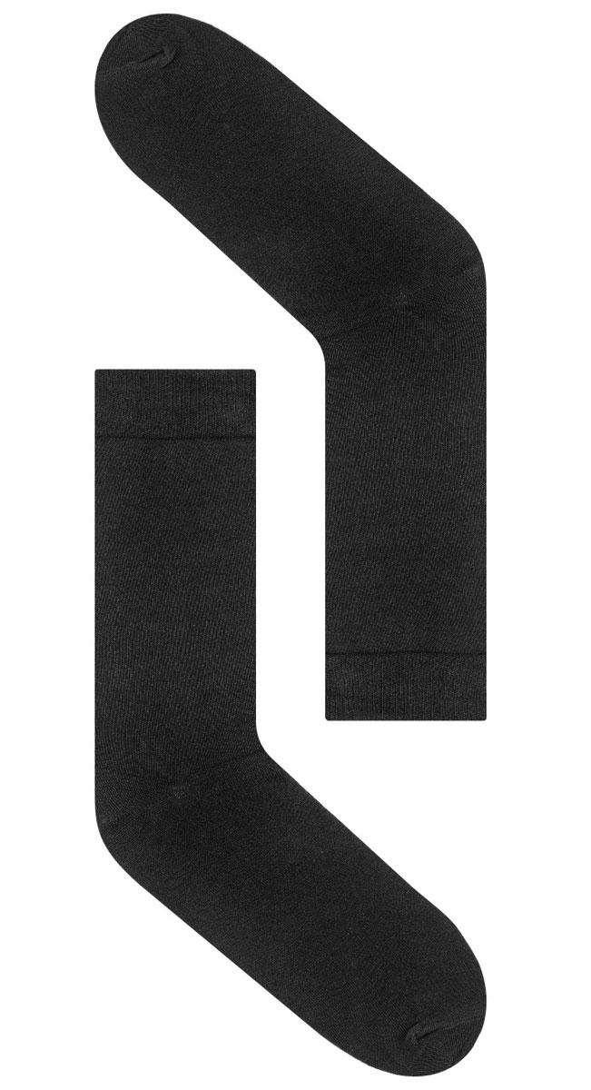 Носки мужские Idilio, цвет: черный. SM 01. Размер универсальныйSM 01Комфортные носки, универсального размера, с добавлением экологически чистого хлопка, изготовленные без применения химических красителей.