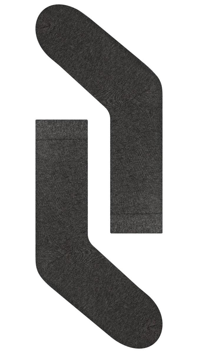 Носки мужские Idilio, цвет: темно-серый. SM 01. Размер универсальныйSM 01Комфортные носки, универсального размера, с добавлением экологически чистого хлопка, изготовленные без применения химических красителей.