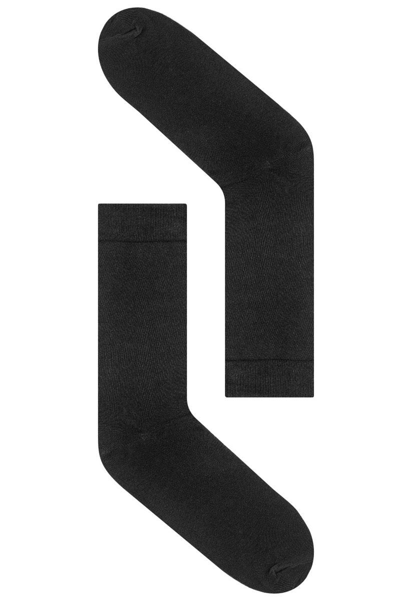 Носки мужские Idilio, цвет: черный. SM 03. Размер 42/44SM 03Комфортные носки, с комфортным кеттельным швом, с добавлением экологически чистого хлопка, изготовленные без применения химических красителей.
