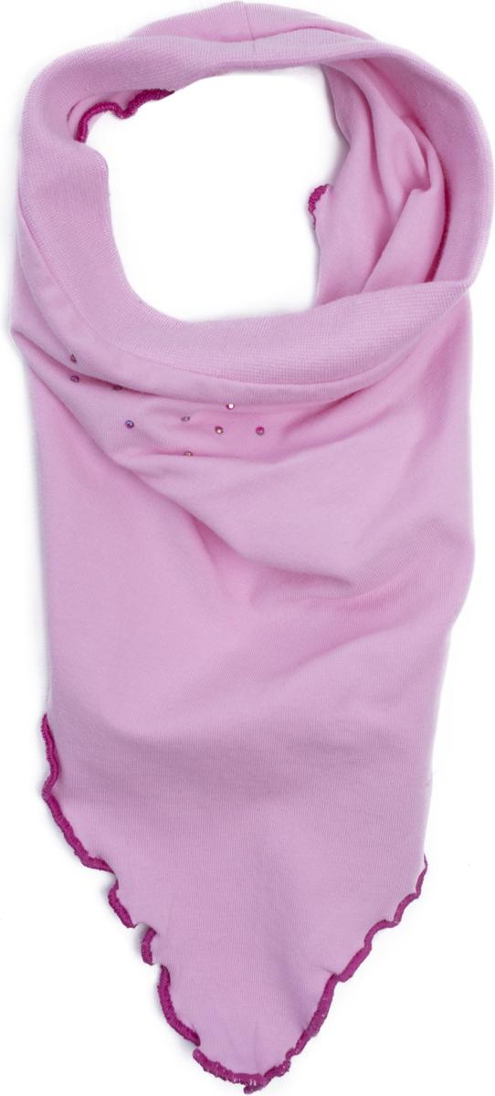Бандана для девочки PlayToday, цвет: белый, светло-розовый, 2 шт. 188076. Размер 48/50188076