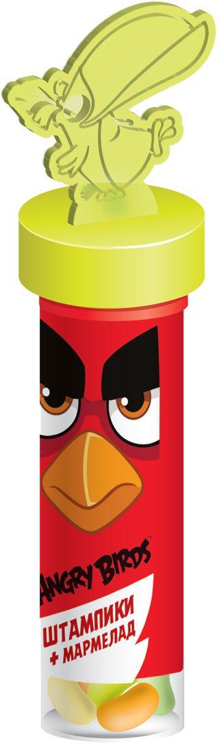 Конфитрейд Angry Birds Movie мармелад в тубе и штампики, 6 г