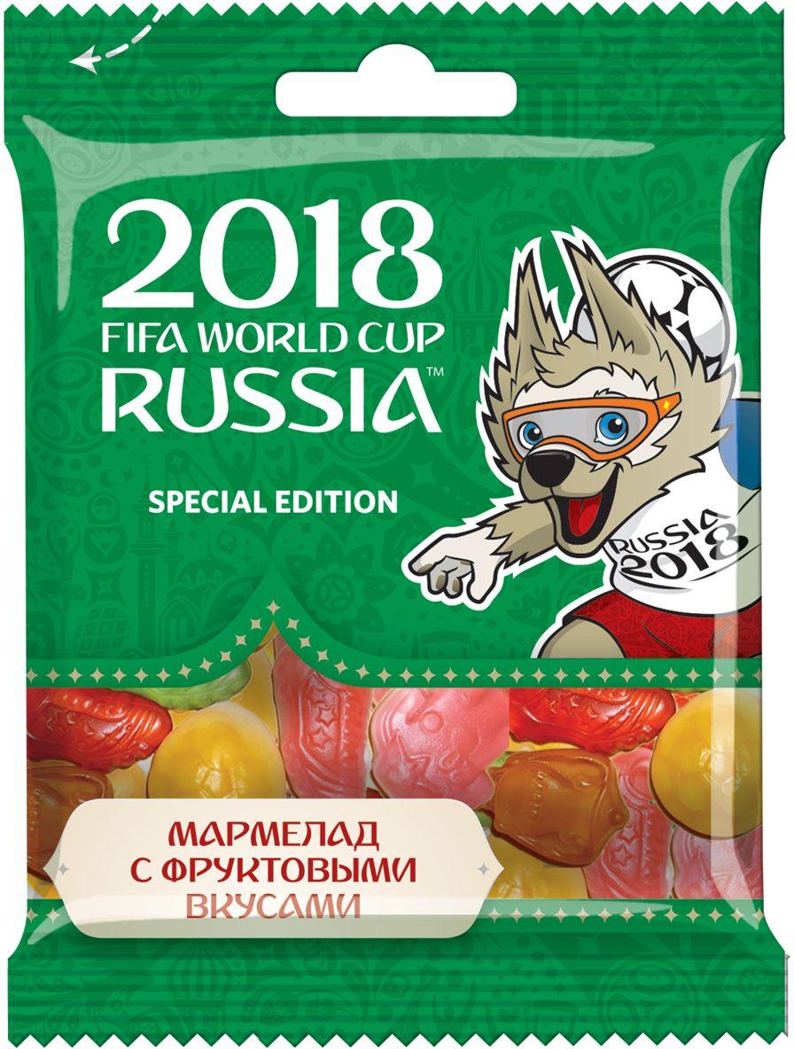 Конфитрейд ЧМ 2018 мармелад жевательный, 65 г