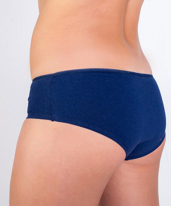 Трусы-шортики женские Idilio, цвет: синий. THC01. Размер 48