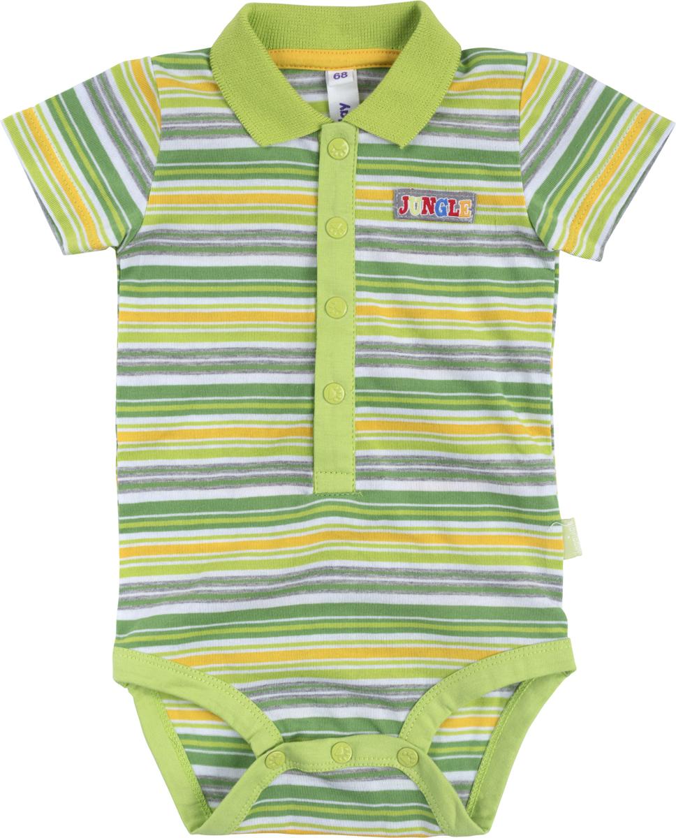 Боди для мальчика PlayToday, цвет: мультиколор. 187864. Размер 62187864