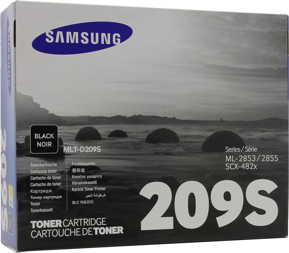 Samsung MLT-D209S тонер картридж для SCX-4824FN/4828FN, Black