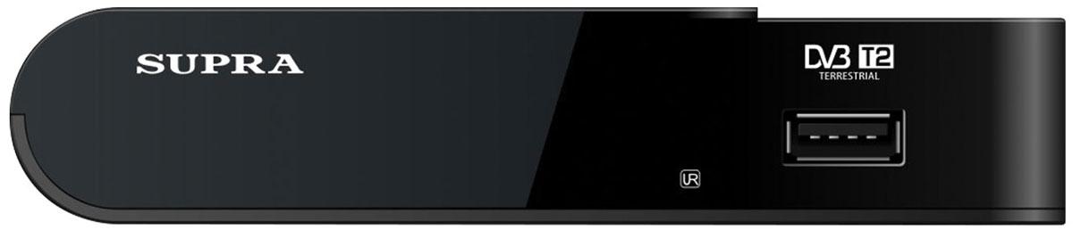 Supra SDT-85 телевизионная приставка DVB-TSDT-85Телевизионная приставка Supra SDT-85 представляет собой многофункциональное компактное устройство, значительным образом расширяющее возможности вашего телевизора. Основным его предназначением является прием цифрового сигнала в формате DVB-Т/T2 без какого-либо спутникового оборудования. Достаточно лишь подключить к устройству антенну, затем соединить его с телевизором и, собственно говоря, настроить каналы. Интересной особенностью устройства является возможность записи эфира по таймеру. Больше вам не придется разрываться между делами и новой серией любимого сериала. Просто подключите к ресиверу внешний USB-накопитель, установите время записи и смотрите видео в удобное для вас время. Пульт ДУ входит в комплект.