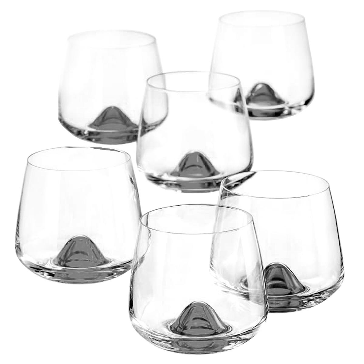 Набор бокалов для бренди Bohemia Crystal Айлэндс, 310 мл, 6 шт набор бокалов для бренди 6 шт crystalite bohemia набор бокалов для бренди 6 шт