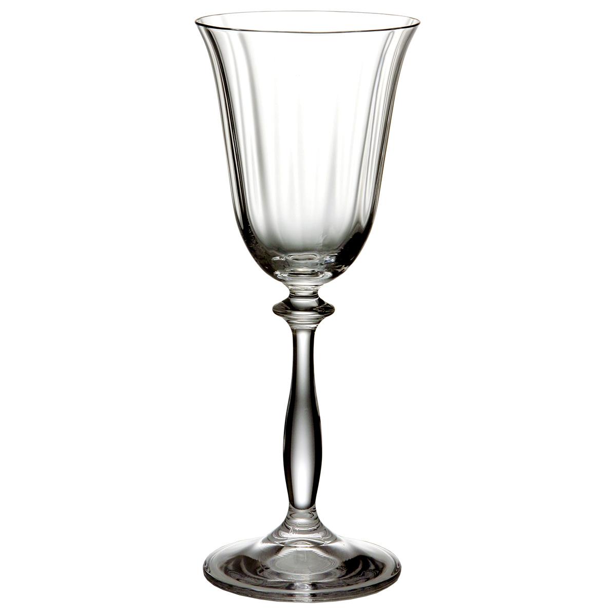 """Бокалы для вина Bohemia Crystal коллекции """"Анжела"""" порадуют не только вас, но и ваших гостей. Они обладают привлекательным внешним видом, а материалом их изготовления является высококачественное хрустальное стекло. Бокалы прозрачные с элегантной формой ножки. Объем бокала 250 мл. Количество в упаковке 6 шт."""