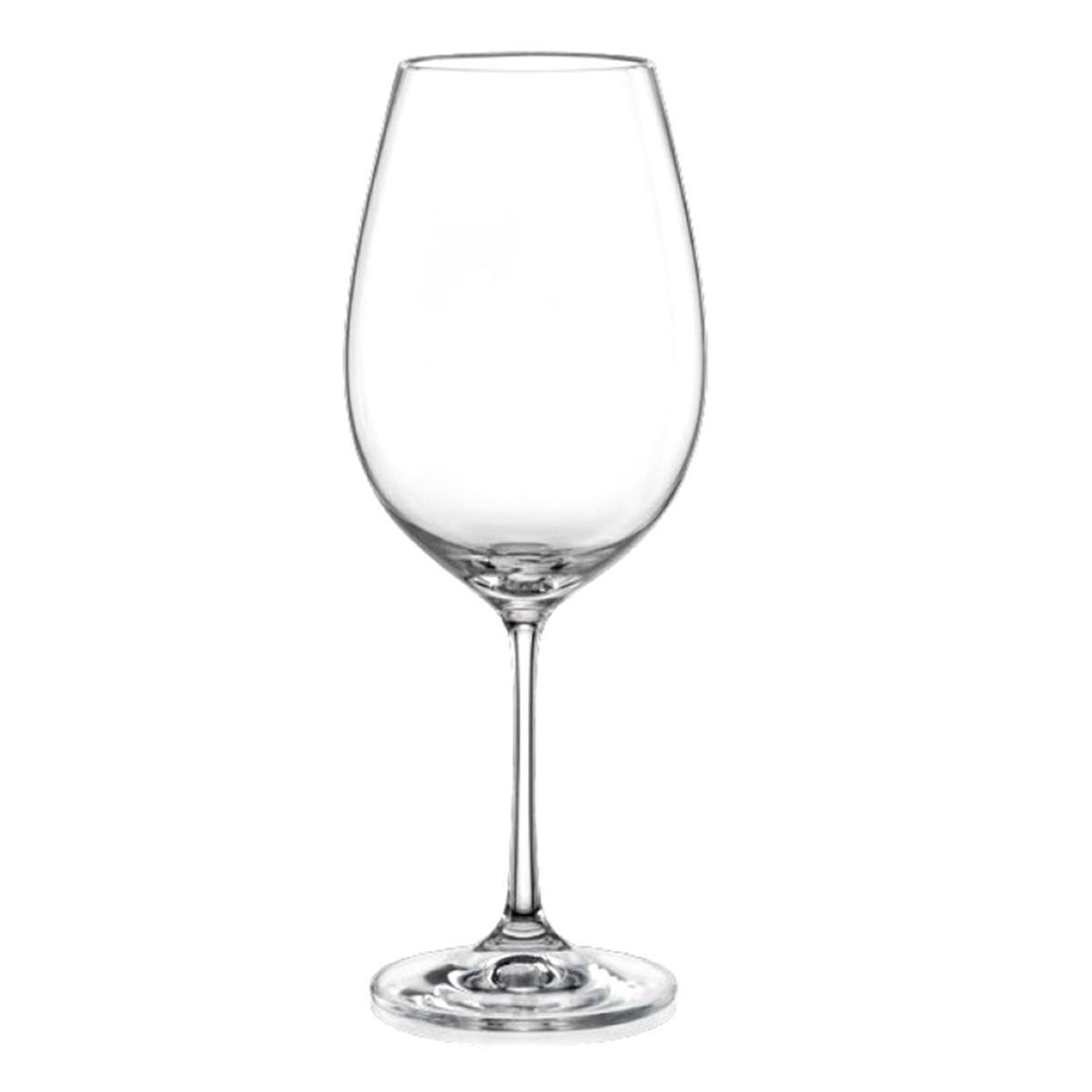 Набор бокалов для вина Bohemia Crystal Виола, 550 мл, 6 шт40729/550Бокалы для вина Bohemia Crystal коллекции Виола порадуют не только вас, но и ваших гостей. Они обладают привлекательным внешним видом, а материалом их изготовления является высококачественное хрустальное стекло. Кроме того, красоту бокала подчеркивает элегантная форма ножки. Объем бокала 550 мл. Количество в упаковке 6 шт.