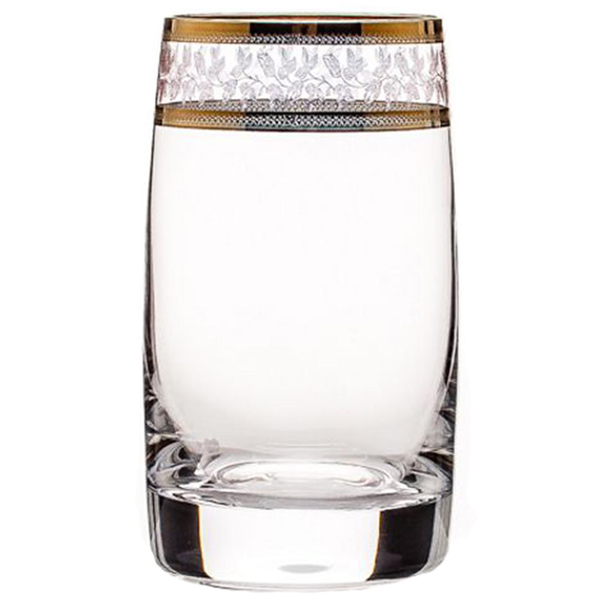 """Бокалы для воды/сока """"Идеал"""" изготовлены из чешского стекла высокого качества. Бокалы """"Идеал"""" станут прекрасным дополнением любого стола. Объем: 250 мл.Количество в упаковке: 6 шт."""