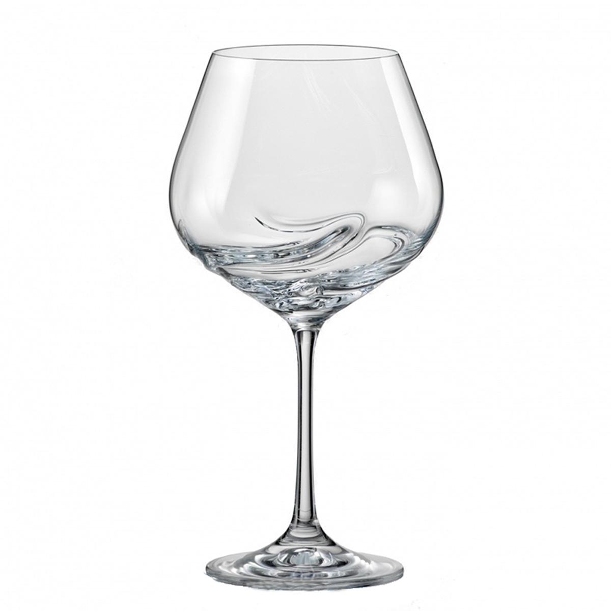 """Бокалы для вина Bohemia Crystal коллекции """"Турбуленция"""" украсят праздничный стол и создадут приятную атмосферу праздника. Они обладают привлекательным внешним видом, а материалом их изготовления является высококачественное хрустальное стекло. Кроме того, данный набор отлично подойдет в качестве оригинального подарка вашим родным и близким. Объем бокала 570 мл. Количество в упаковке 2 шт.На стенках бокалов имеются спирали, которые получаются специальным методом выдува стекла. Спираль одновременно функциональный и украшающий элемент, который ускоряет процесс оксигенации вина и выделения аромата. Благодаря этому, вино не требует часового отстаивания в декантере, достаточно всего несколько секундного вращения в бокале."""
