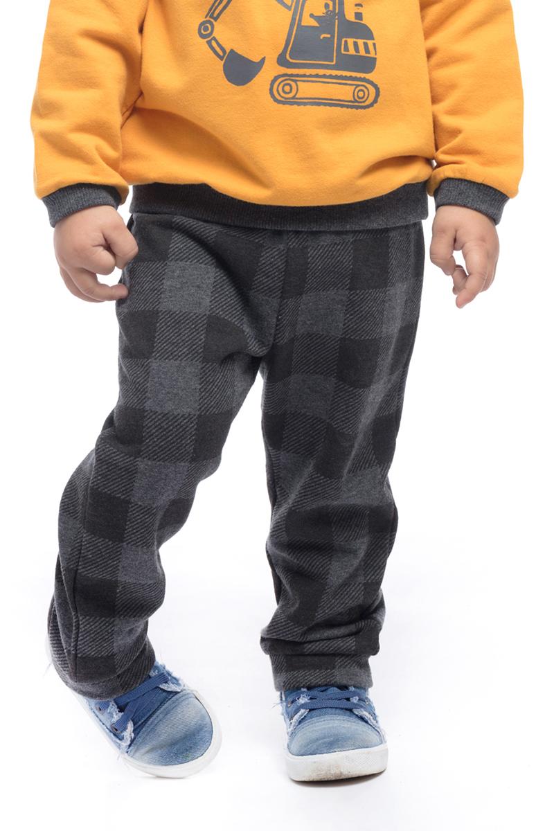 Брюки для мальчика PlayToday, цвет: серый. 187016. Размер 92187016
