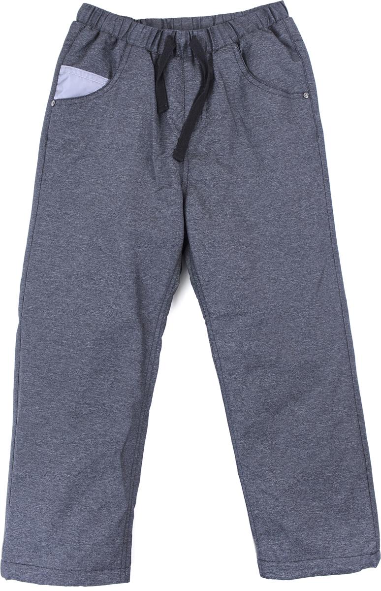 Брюки для мальчика PlayToday, цвет: темно-серый. 181054. Размер 116181054Утепленные брюки выполнены из водоотталкивающей ткани. Подкладка из полиэстера. Пояс на широкой резинке. Модель с встрочными и накладными карманами. Пояс и низ штанин дополнены регулируемыми шнурами - кулисками. Светоотражатель обеспечит видимость ребенка в темное время суток.
