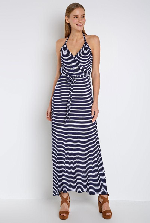 Платье Infinity Lingerie Tumasera, цвет: темно-синий, белый. 31200200026_8000. Размер XL (50) объектив infinity scv 550g 1 3 5 0 50 0 17990