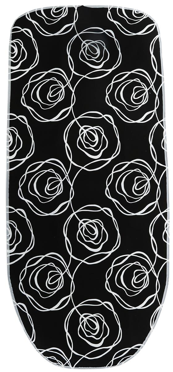 Чехол для гладильной доски Attribute Express, цвет: черный, 140 х 60 смABE105_черныйЧехол для гладильной доски Attribute Express, цвет: черный, 140 х 60 см
