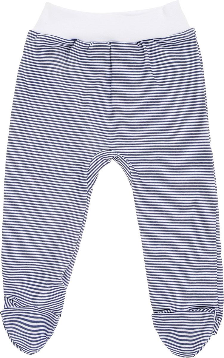 Ползунки для мальчика КотМарКот, цвет: синий, белый. 5111. Размер 86 ползунки котмаркот ползунки африка