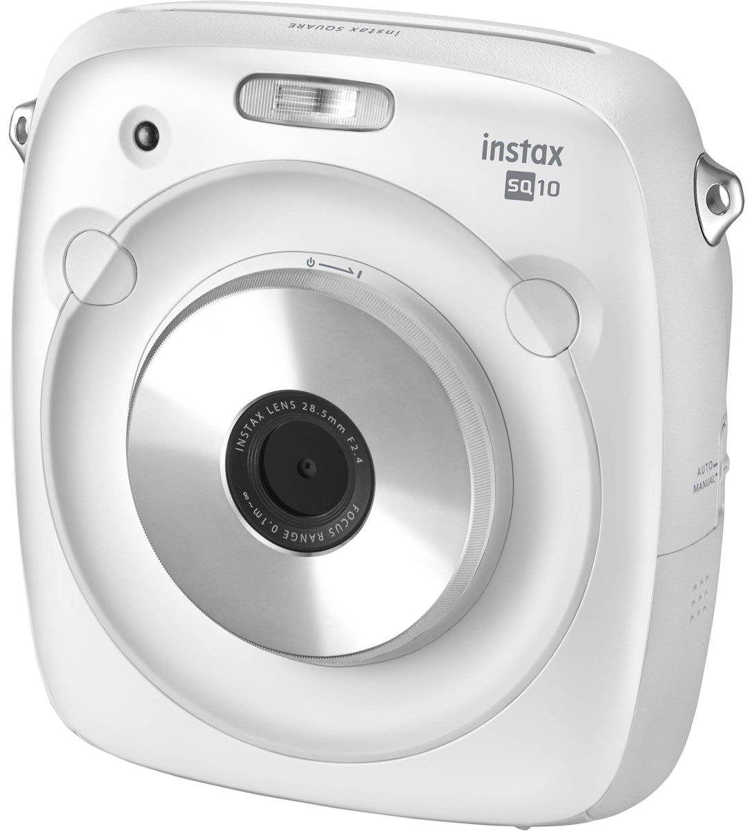 Fujifilm Instax Square 10, White фотокамера мгновенной печати фотопленка fujifilm wide glossy для instax 300 210 glossy 10 2pk на 20 фотографий