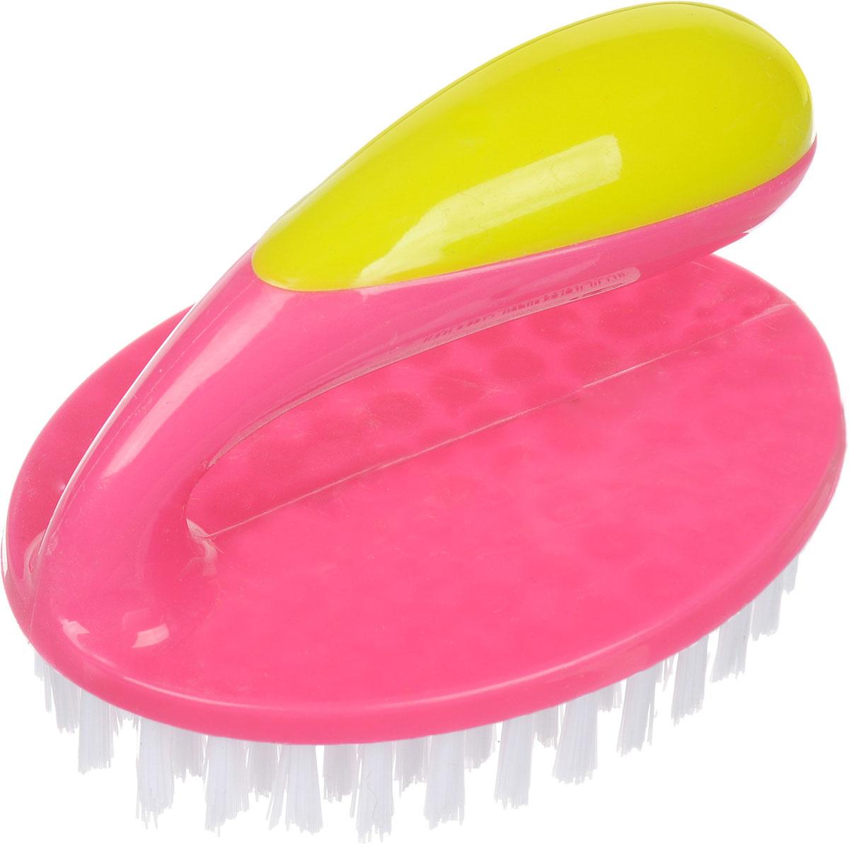 Щетка Rozenbal Basic, для пола, цвет: розовый, R810036R810036_розовыйЩетка Rozenbal Basic, для пола, цвет: розовый, R810036