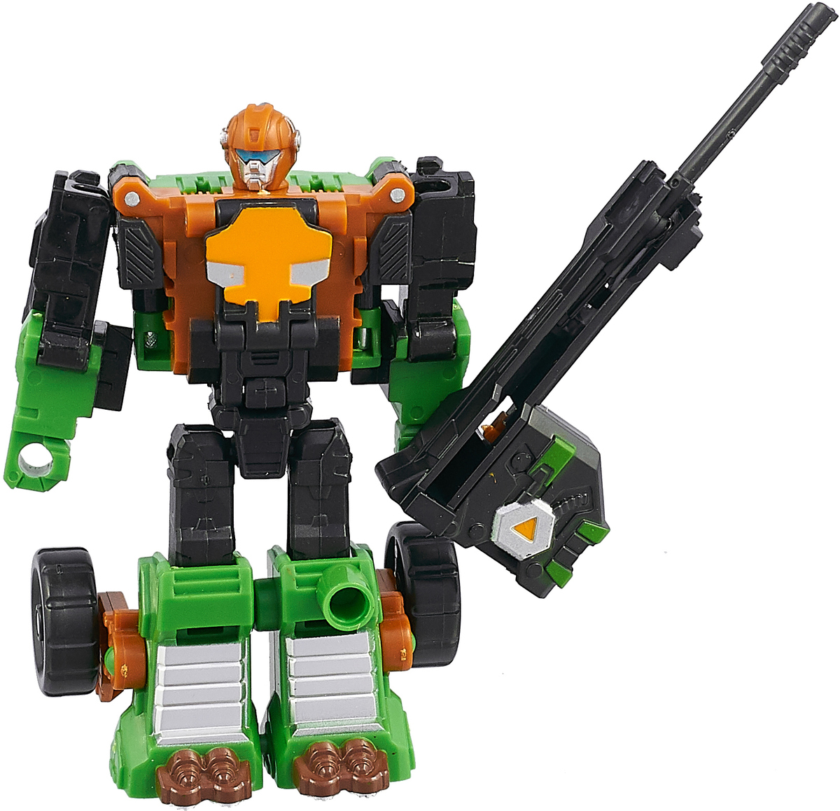 Склад уникальных товаров Робот-трансформер Багги с Пушкой M цвет черный зеленый коричневый склад уникальных товаров робот трансформер багги с пушкой m цвет черный зеленый коричневый