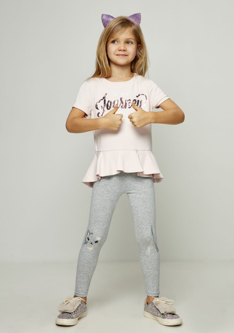 Блузка для девочки Zarina, цвет: розовый. 8122525322090D. Размер 122 джемпер для девочки zarina цвет белый 8122516416008d размер 122