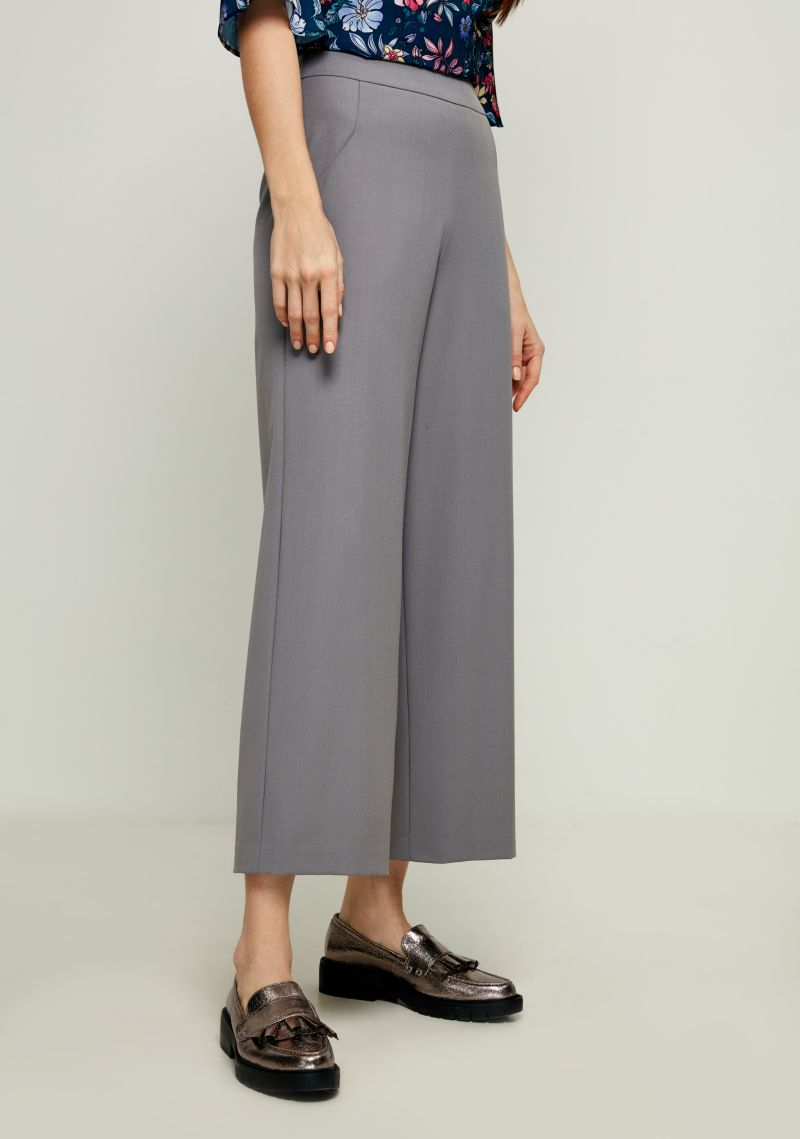 Брюки женские Zarina, цвет: серый. 8123219720032. Размер 42 брюки zarina zarina za004ewxrm01