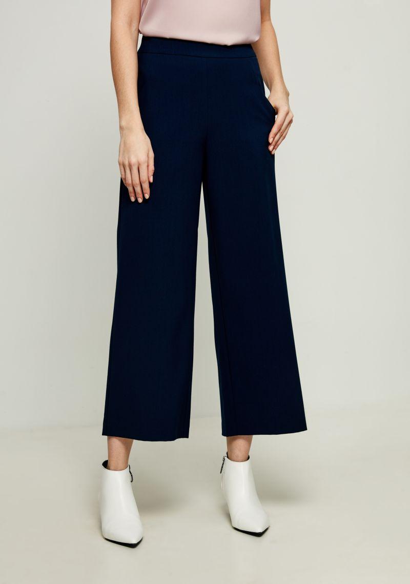 Брюки женские Zarina, цвет: темно-синий. 8123219720047. Размер 48 брюки zarina zarina za004ewxrm01