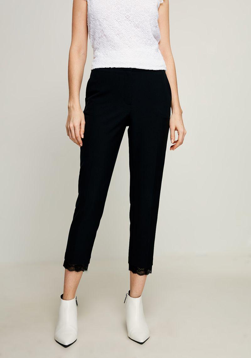 Брюки женские Zarina, цвет: черный. 8123221722050. Размер 50 женские брюки лэйт светлый размер 50