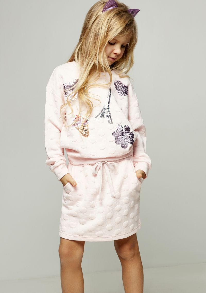 Джемпер для девочки Zarina, цвет: розовый. 8122515415090D. Размер 128 джемпер для девочки zarina цвет белый 8122516416008d размер 122
