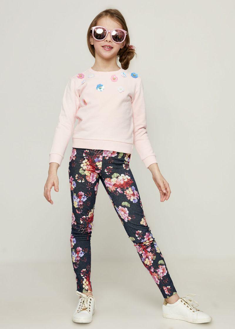 Джемпер для девочки Zarina, цвет: розовый. 8123527427090D. Размер 128 джемпер для девочки zarina цвет белый 8122516416008d размер 122