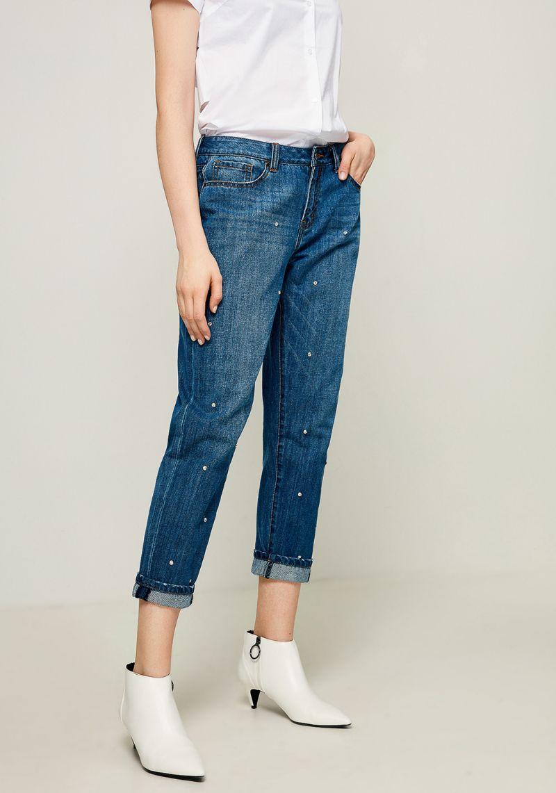 Джинсы женские Zarina, цвет: голубой. 8123416719102. Размер 42 джинсы женские zarina цвет синий 8224437737103 размер 42
