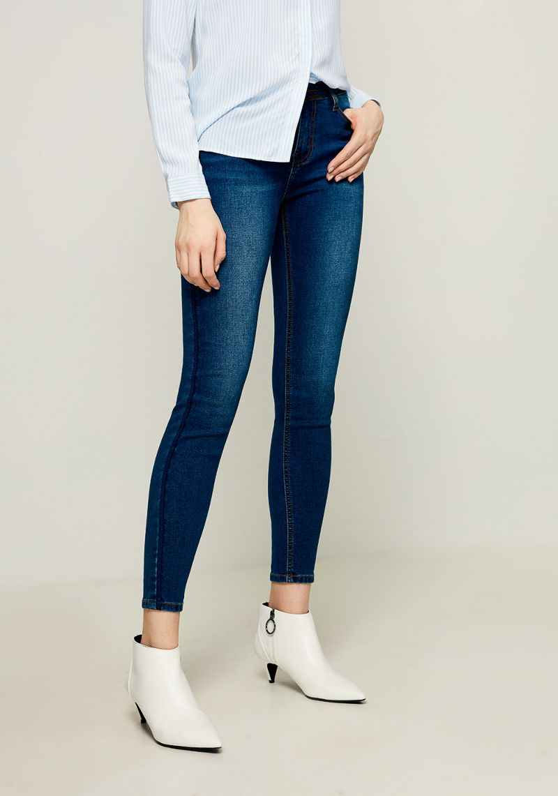 Джинсы женские Zarina, цвет: синий. 8123414717103. Размер 46 джинсы женские zarina цвет темно синий 8224440740104 размер 52