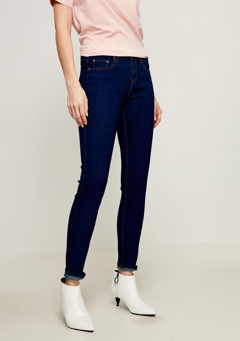Джинсы женские Zarina, цвет: темно-синий. 8123410714104. Размер 42 джинсы женские zarina цвет синий 8224437737103 размер 42