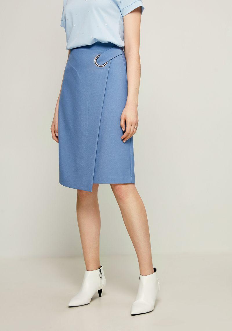 Юбка Zarina, цвет: голубой. 8123204204059. Размер 468123204204059