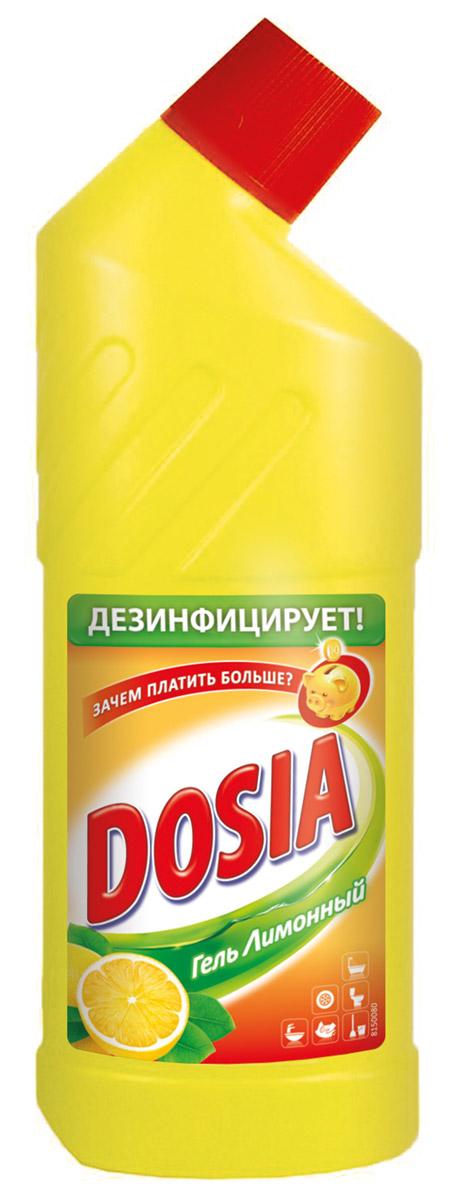 Гель для чистки туалета Dosia, с ароматом лимона, 750 мл7503603Гель Dosia - средство чистящее с дезинфицирующим и отбеливающим эффектом. Убивает микробы. Характеристики: Объем: 750 мл. Производитель: Россия. Товар сертифицирован.Уважаемые клиенты!Обращаем ваше внимание на возможные варьирования в дизайне упаковки.Как выбрать качественную бытовую химию, безопасную для природы и людей. Статья OZON Гид