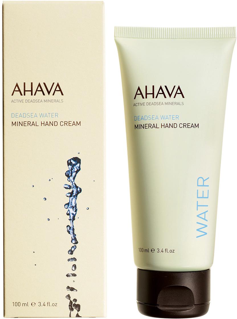 Ahava Deadsea Water М Минеральный крем для рук 100 мл ahava противовозрастной крем для рук с защитой широкого спектра spf15 time to smooth 75 мл