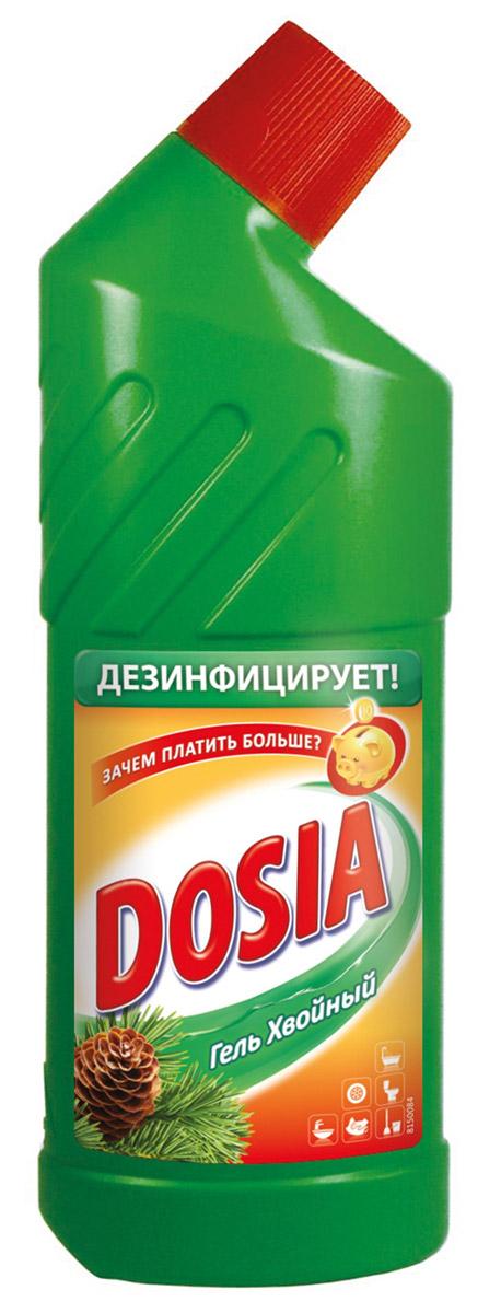 Гель для чистки туалета Dosia, с хвойным ароматом, 750 мл7503604Гель Dosia хвойным ароматом - средство чистящее с дезинфицирующим и отбеливающим эффектом. Убивает микробы. Характеристики: Объем: 750 мл. Производитель: Россия. Товар сертифицирован.Уважаемые клиенты!Обращаем ваше внимание на возможные варьирования в дизайне упаковки.Как выбрать качественную бытовую химию, безопасную для природы и людей. Статья OZON Гид