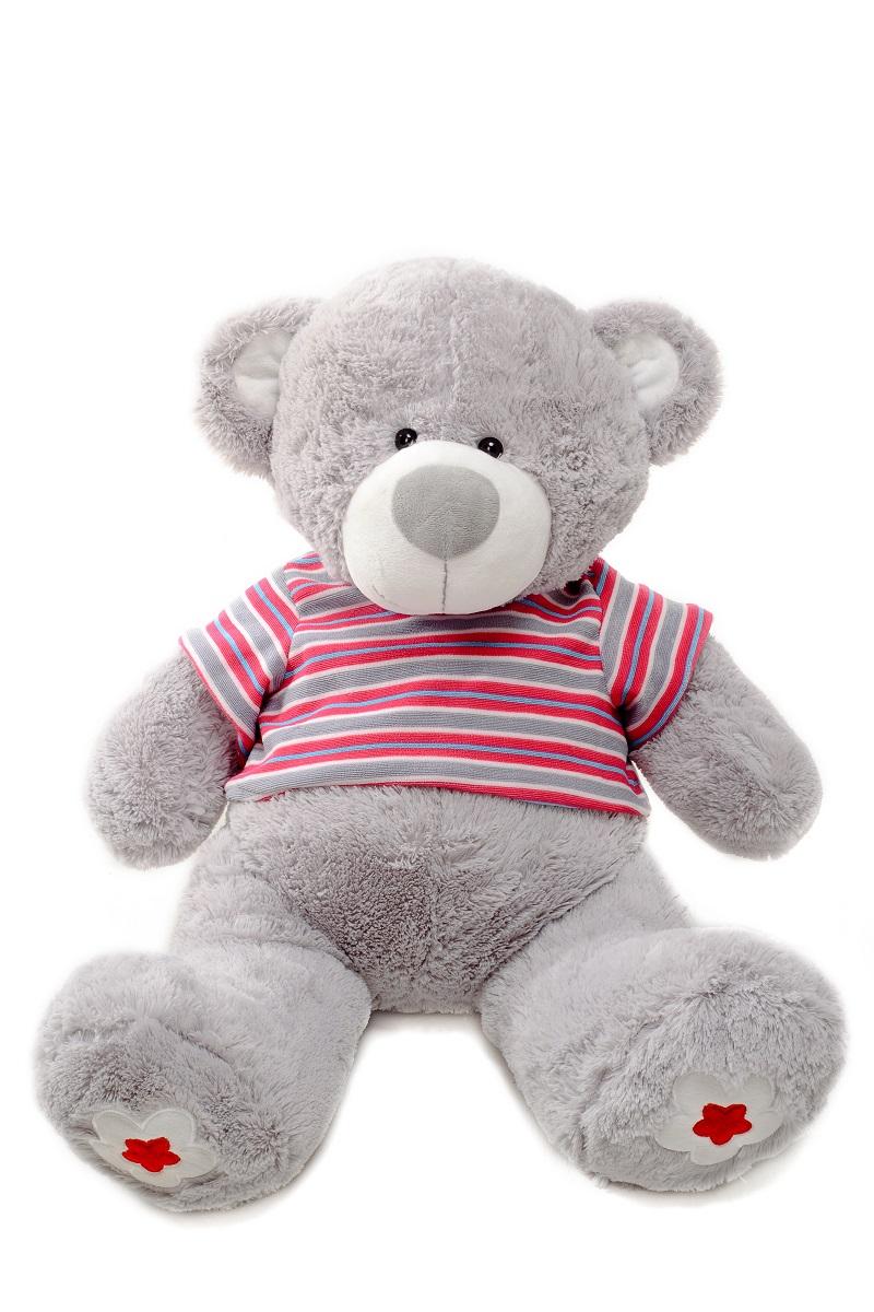 Плюш Ленд Мягкая игрушка медведь Стиляга 70 см мягкая игрушка медведь fluffy family мишка тоша 70 см коричневый плюш 681178